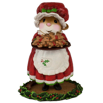 MRS. CLAUS'S COOKIES by Wee Forest Folk, WFF# M-601, Christmas Mouse