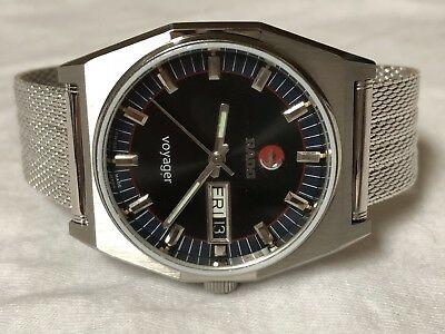 Vintage Rado Voyager Automatic Gents Watch, Swiss,