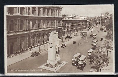 23412) The Cenotaph And Whitehall London 1937