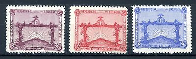 Uruguay MiNr. 379-81 postfrisch/ MNH Olympia 1924 + 1928 (Oly1326