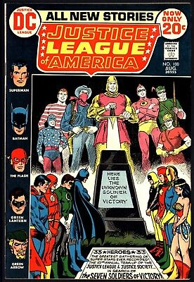 Justice League Of America #100 Nice Tight Vf 8.0 Glossy Cents Copy From 1972