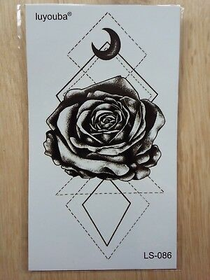 FLOWER TEMPORARY TATTOO 110 X 60mm LS086