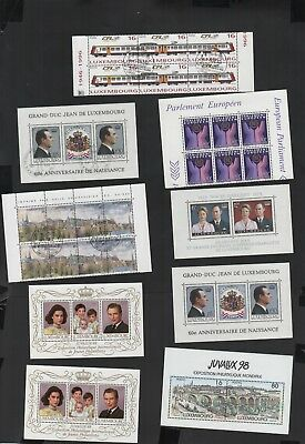 388          BGL                    Luxembourg MNH and cancelled to order