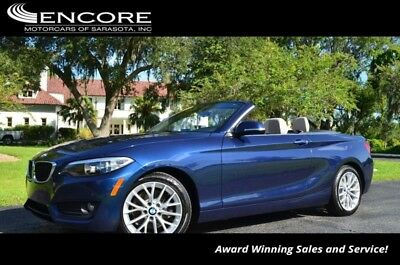 2-Series 228i W/Driver Assistance Package 2015 BMW 2 Series 228i 31,468 Miles Convertible FREE WARRANTY!