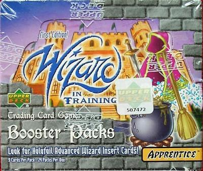 Wizard In Training Trading Card Game Sealed Box of 24 Booster Packs - Upper Deck