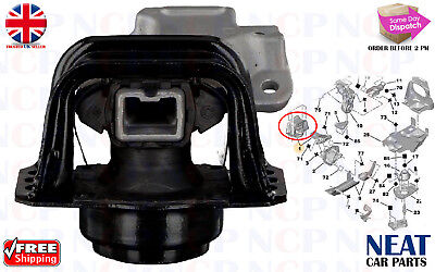 Peugeot 307 308 Citroen C4 1.6 16 V Top Right Engine Mounting 1839H7