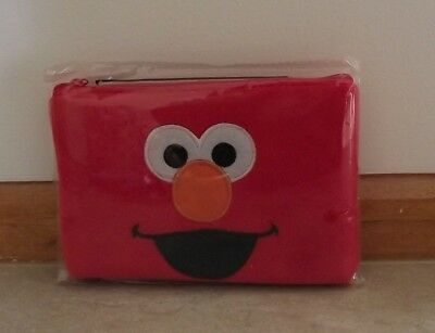 Sesame Street Elmo Pencil Case ~ New With Tags