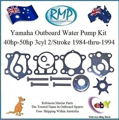 A Brand New RMP Yamaha Outboard Water Pump Kit 40hp-50hp 3cyl # R 6H4-W0078
