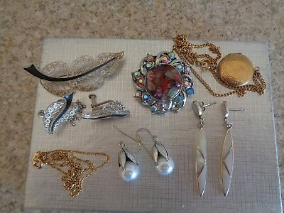 Job Lot Of Vintage Costume Jewellery  Surplus To Requirements