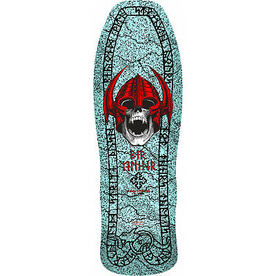 Powell Peralta Skateboard Deck Welinder Nordic Skull Blue RE-ISSUE