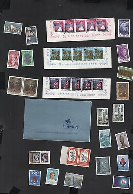 405          BGL     Luxembourg MNH selection