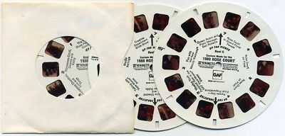 1980 Rose Festival Court and Queen Tour Plant Portland Oregon View-Master Reels