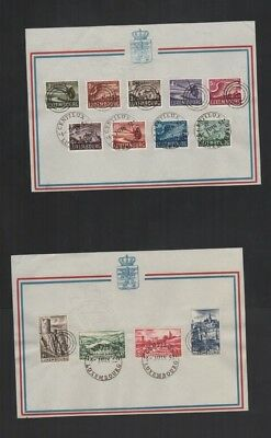 414          BGL  Luxembourg  special Centilux of cards and cover interesting