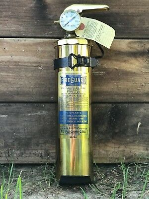 Brass Fire Extinguisher 1964 AirCraft Type A-20