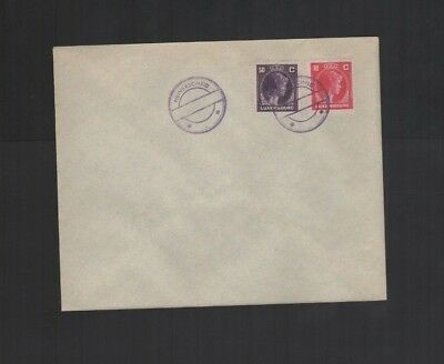 425      BGL  Luxembourg  special cover stamped Kautschuk