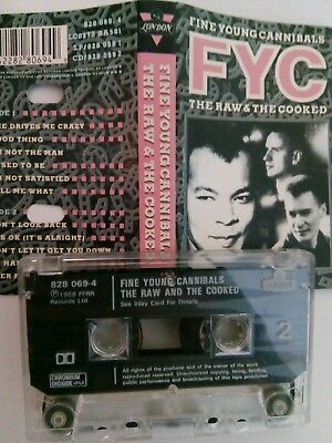 Fine Young Cannibals - The Raw & The Cooked - MC - Musikkassette - Tape - Casset