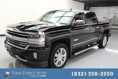 Chevrolet Silverado 1500 High Country Texas Direct Auto 2017 High Country Used 5.3L V8 16V Automatic 4WD Pickup Truck