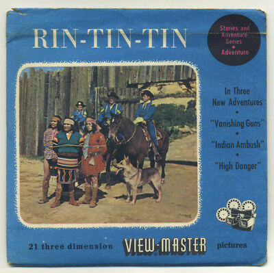 RIN-TIN-TIN Belgium-made Sawyer's 1955 ViewMaster Packet with Reels 930-ABC