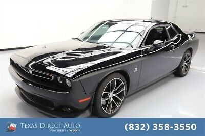 Dodge Challenger R/T Scat Pack Texas Direct Auto 2015 R/T Scat Pack Used 6.4L V8 16V Automatic RWD Coupe