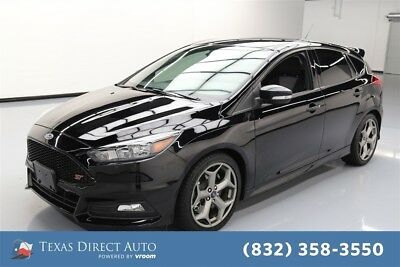 Ford Focus ST Texas Direct Auto 2017 ST Used Turbo 2L I4 16V Manual FWD Hatchback Premium