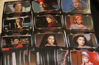 STAR TREK THE WOMEN OF ST trading card BASISSET 81 Sammelkarten Uhura Seven