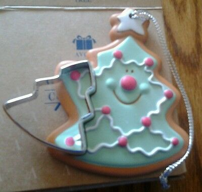 Avon Cookie Cutter Cuties Christmas Tree Ornament