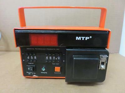 Medical Technology Products Transport Infusion IV Pump MTP 1001 (A)