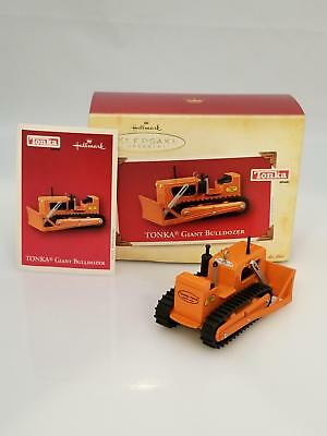 Hallmark Keepsake Ornament 2004 Giant Bulldozer - Tonka Trucks - #QXI5281-SDB