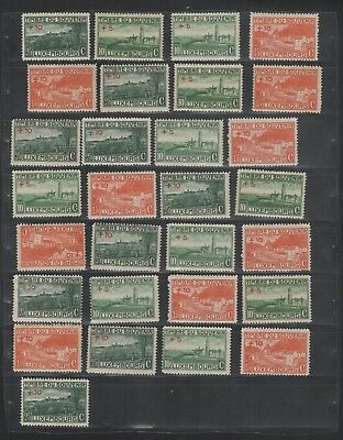 2874 Luxembourg Luxemburg beautiful mixed selection of stamps MNH