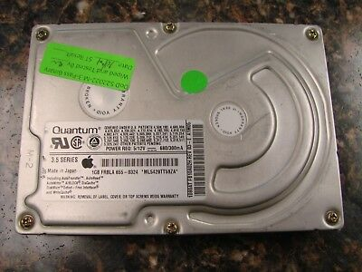 "Quantum 1Gb 1080AT FB10A011 Rev 03-G 3.5"" IDE Hard Drive w/ Apple Firmware"