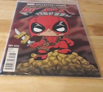 Marvel collector corps Deadpool