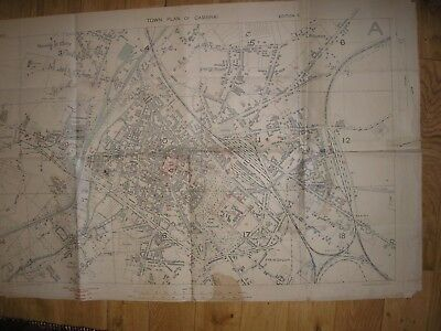 Cambrai Map 1918 British Army France 1;5,000 Western Front History