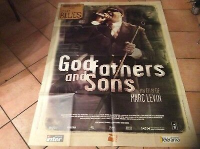 Affiche  GOD FATHERS AND SONS 120x160cm