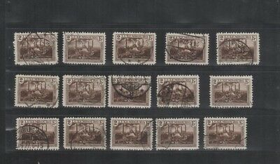 2880 Luxembourg Luxemburg beautiful mixed selection of stamps cancelled