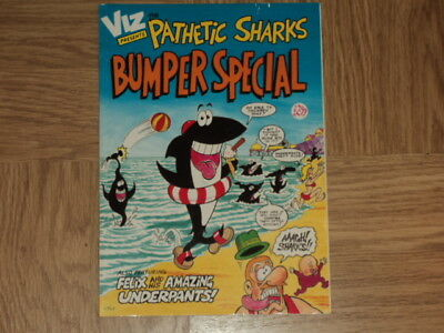 Viz Comic Pathetic Sharks Bumper Special ORIGINAL & GENUINE