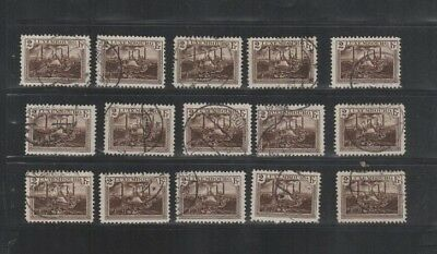 2882 Luxembourg Luxemburg beautiful mixed selection of stamps cancelled