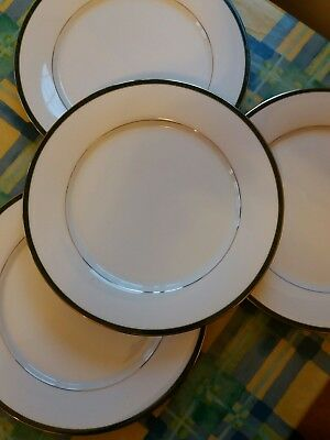boots Hanover Green 4 dinner plates