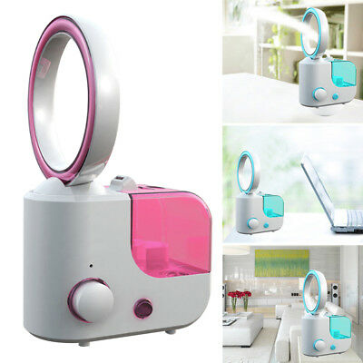 Humidifier With Bladeless Fan Air Purifier Aroma Diffuser Desktop Skin Care