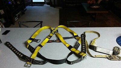 Guardian Fall construction Protection Universal Safety Harness & lanyard