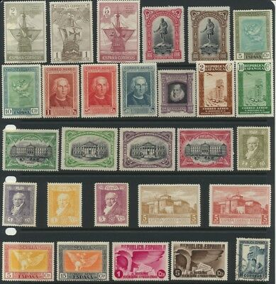 Spanish Stamps - Singles - Mint & Used - Lot F-192
