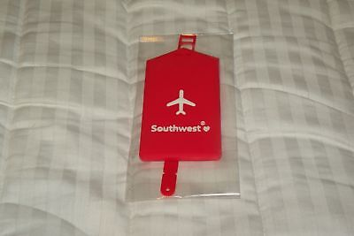 Southwest Airlines Red Bag Tag Nwot Sealed