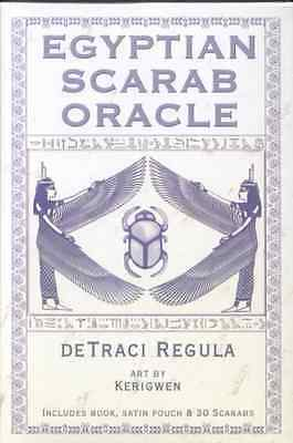 Egyptian Scarab Oracle & Book