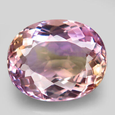 6.22ct.Marvelous Gem! 100%Natural Bi Color Ametrine Unheated Bolivia AAA Nr!