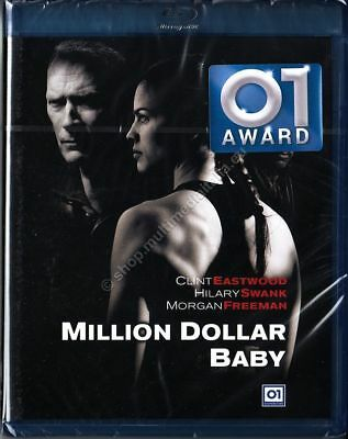 MILLION DOLLAR BABY (2004 Clint Eastwood) BLU RAY DISC NUOVO