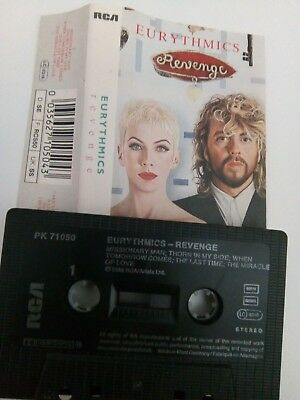Eurythmics - Revenge - MC - Musikkassette - Tape - Cassette