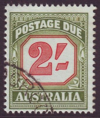 2/- Postage Due No Watermark Asc D130 / Sg D141 Fine Used (A7796)