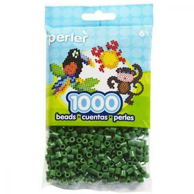 Perler 80-19010 Bead Bag, Dark Green