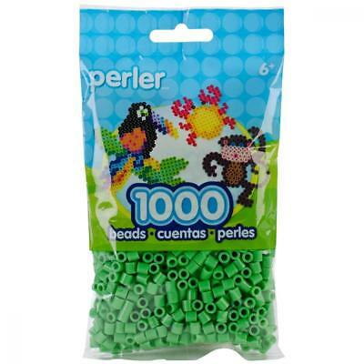 Perler Beads Green Bag