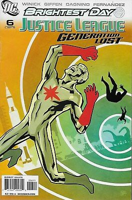 Justice League: Generation Lost No.6 / 2010 Brightest Day