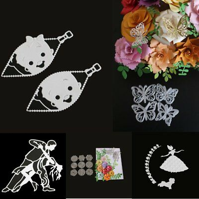 Metal Cutting Dies Stencils Scrapbook Card Paper Album Decor Embossing DIY